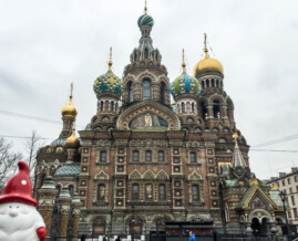 The Church of the Savior on Spilled Blood - St. Petersburg, Russia