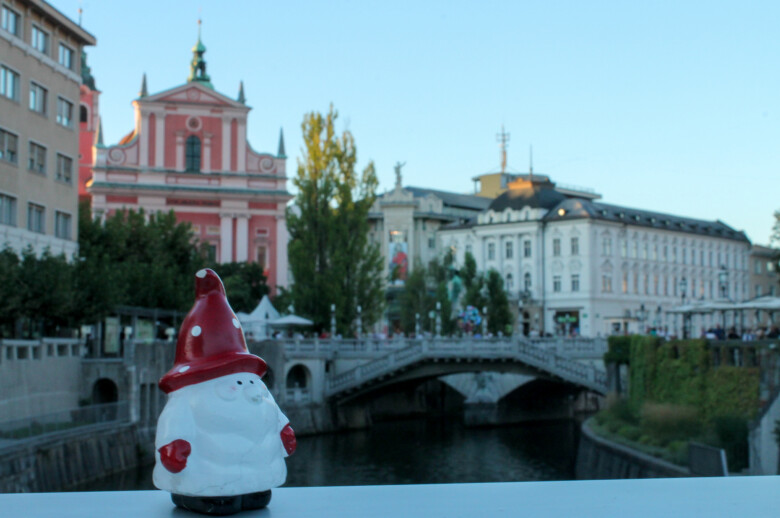 The Triple Bridge, Ljubljana - Slovenia