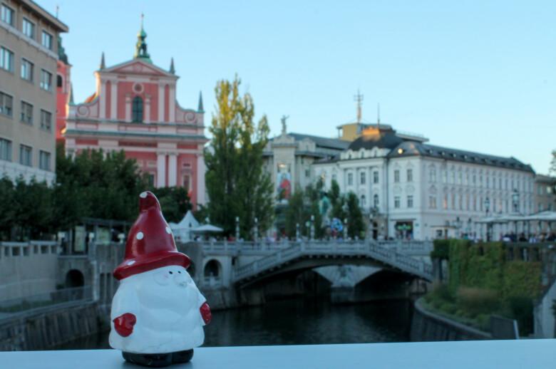 The Triple Bridge, Ljubljana - Slovenia