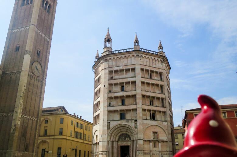 Baptistery of Parma - Italy