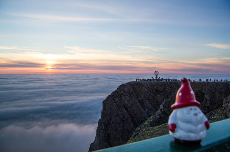 North Cape (Nordkapp), Midnight sun - Norway