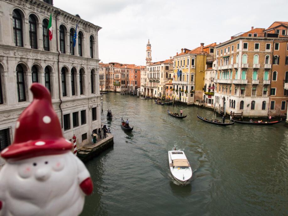 Grand Canal - Venice, sinking city - Start Escape!